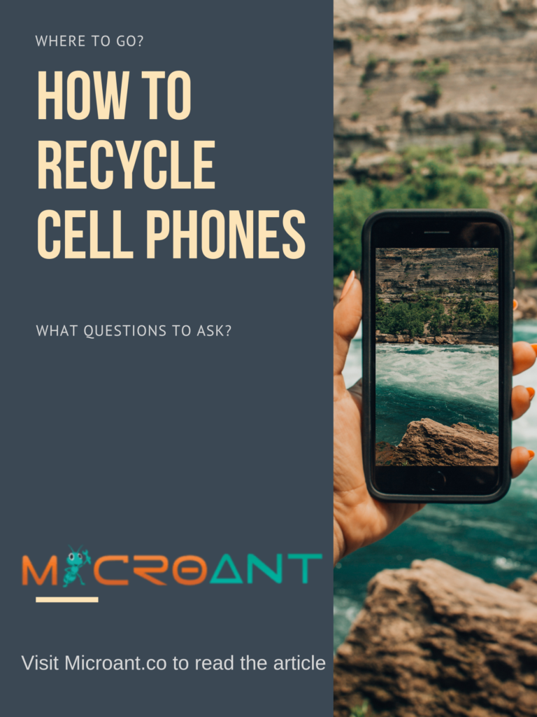 How to recycle cell phones