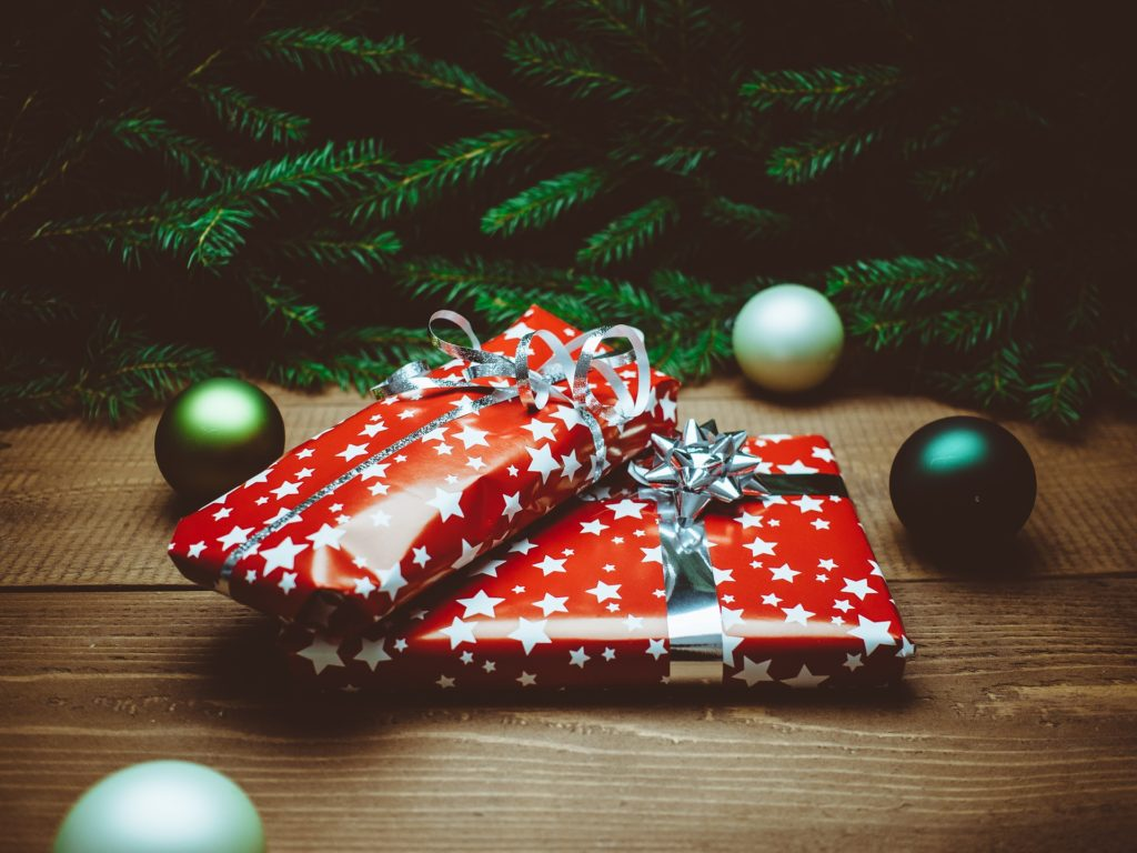 Gift wrap recycling